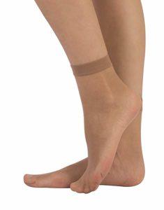 Scarpe estive da donna tacco alto - calze di nylon corte