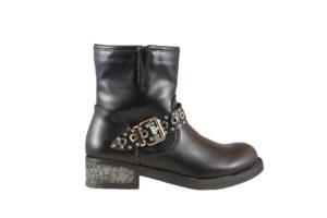 scarpe invernali ragazza - Stivaletto borchiato